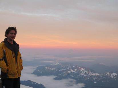 kyle on mt ranier